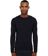 The Kooples - Sport Merino and Metal Button Sweater