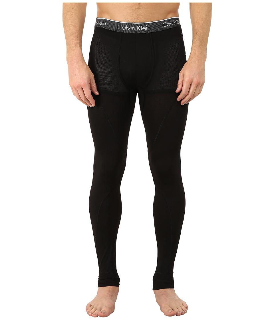 Calvin Klein Underwear Air Micro Leggings (Black) Men