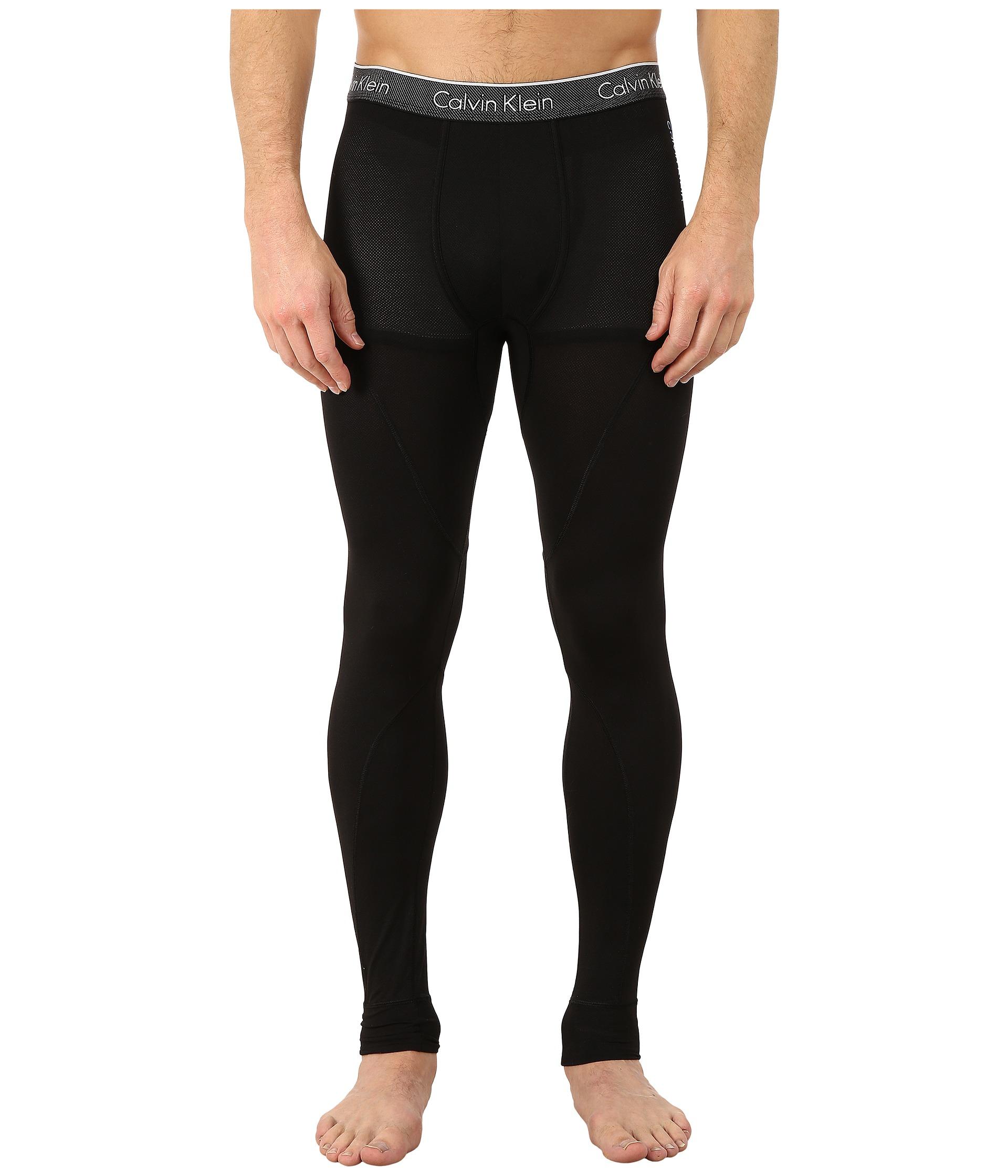 calvin klein underwear air micro leggings black free shipping both ways. Black Bedroom Furniture Sets. Home Design Ideas