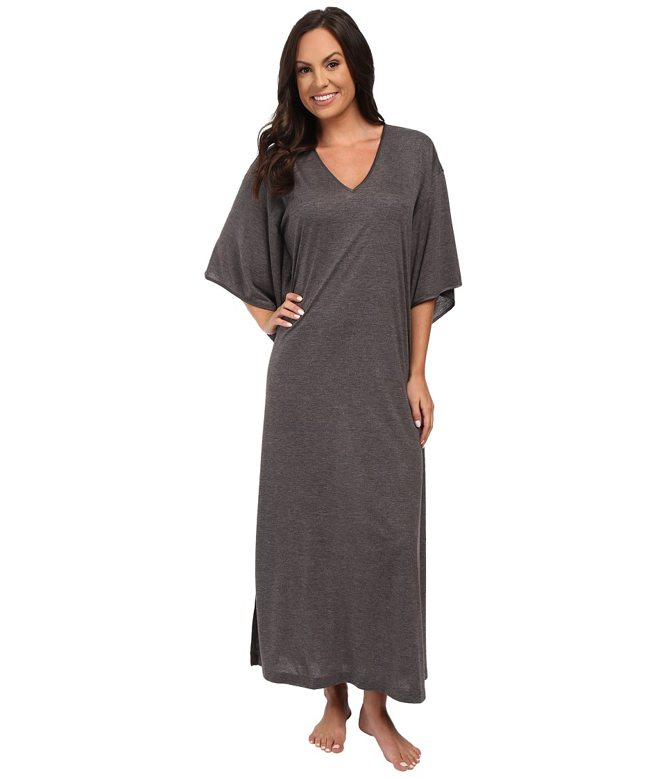 N by Natori Congo Caftan Heather Grey Womens Robe