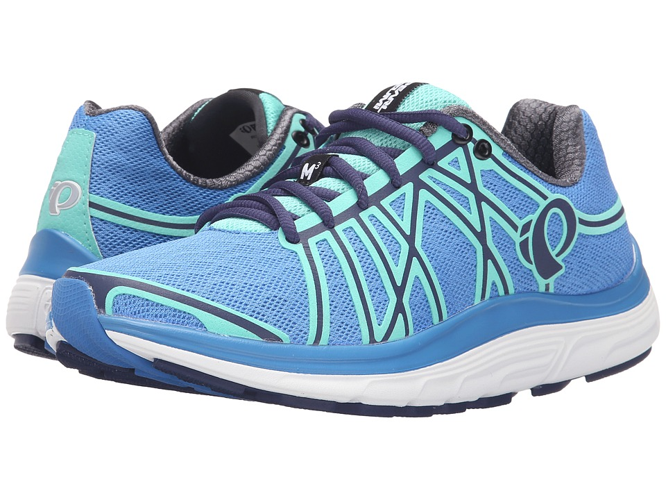 Pearl Izumi EM Road M 3 v2 Sky Blue/Aqua Mint Womens Running Shoes