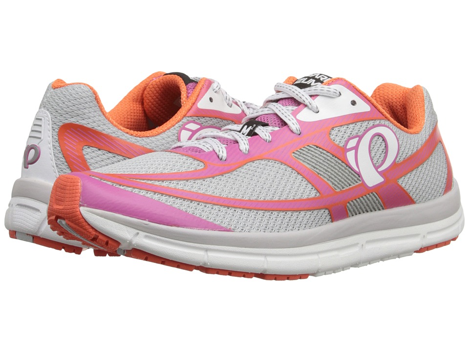 Pearl Izumi EM Road M2 v3 Silver/Ibis Rose Womens Running Shoes