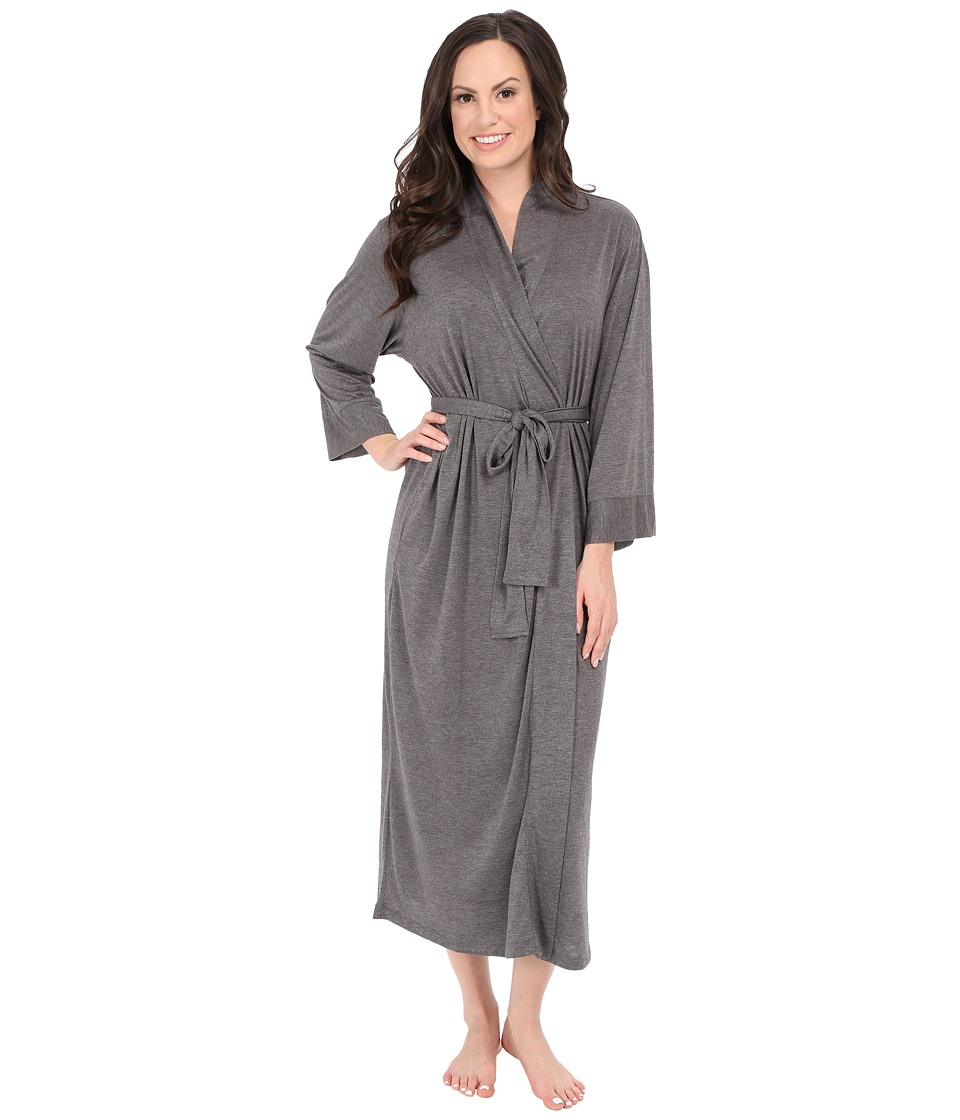 N by Natori Congo Robe Heather Grey Womens Robe