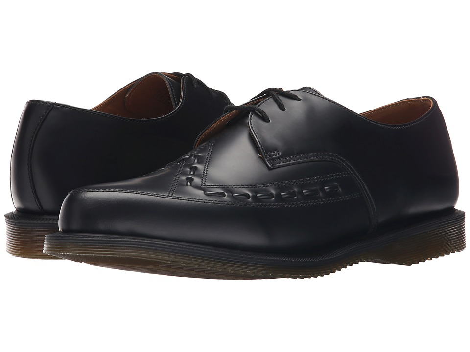 Dr. Martens Ally Monk Strap Creep (Black Smooth) Lace up casual Shoes