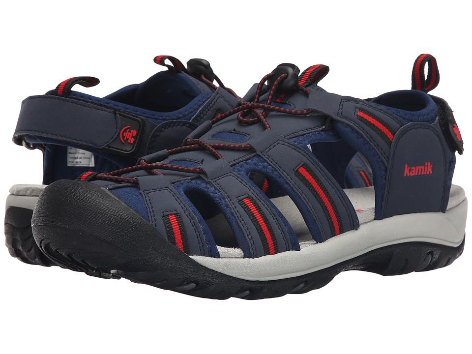 Kamik Capemay Navy Mens Shoes