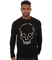 Deus Ex Machina - Skull Raglan Crew Neck Jumper