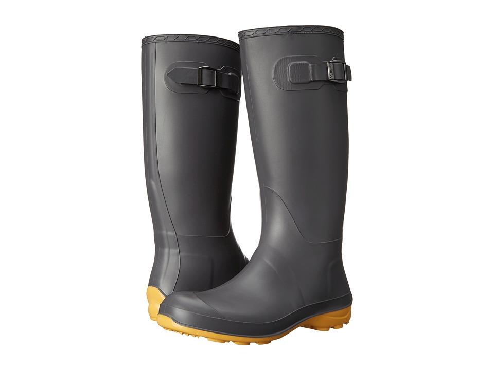 Kamik Olivia Charcoal/Amber Womens Rain Boots