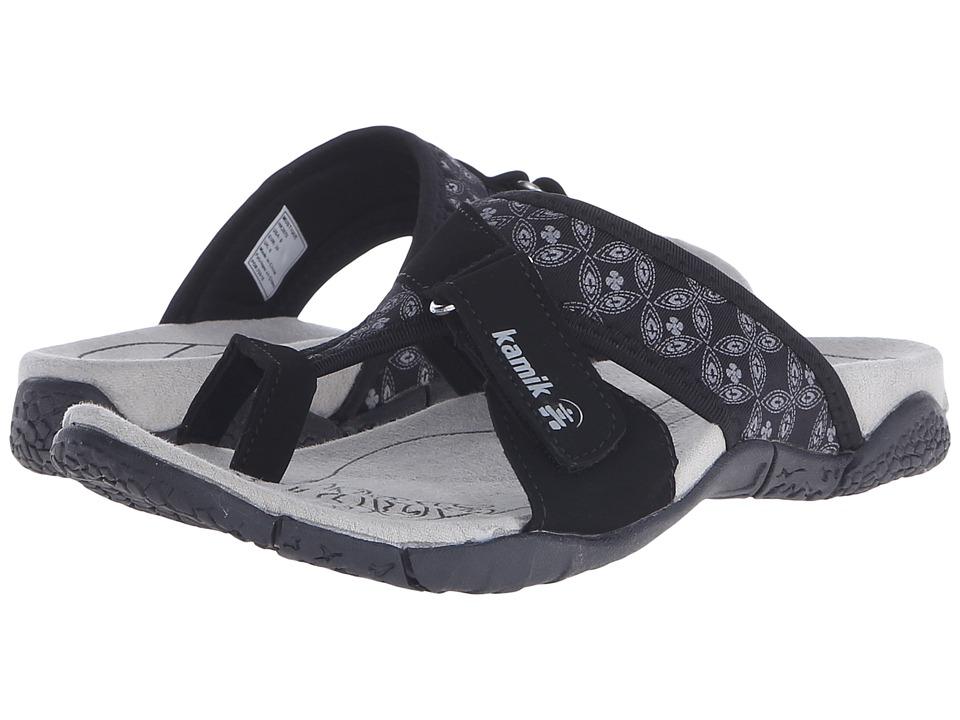 Kamik Mustique Black Womens Sandals