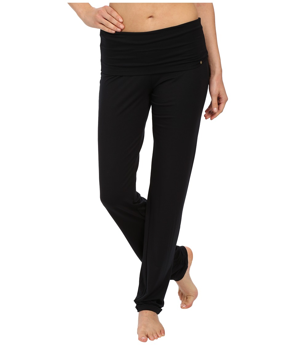 Hanro - Yoga Basics Lounge Pants (Black) Womens Pajama