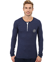 Kenneth Cole Reaction - Waffle Long Sleeve Henley