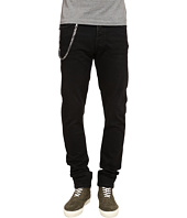 The Kooples - Washed Black Slim Denim w/ Chain