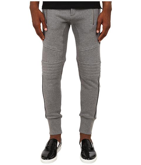 The Kooples Sport Patch Classic Fleece Sweatpants - Grey