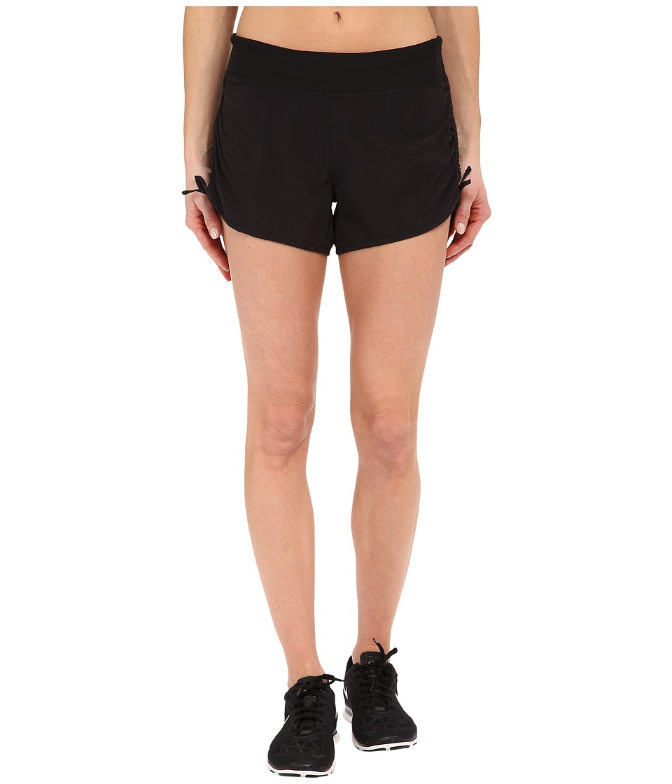 Lucy Endurance Woven Shorts Lucy Black Womens Shorts