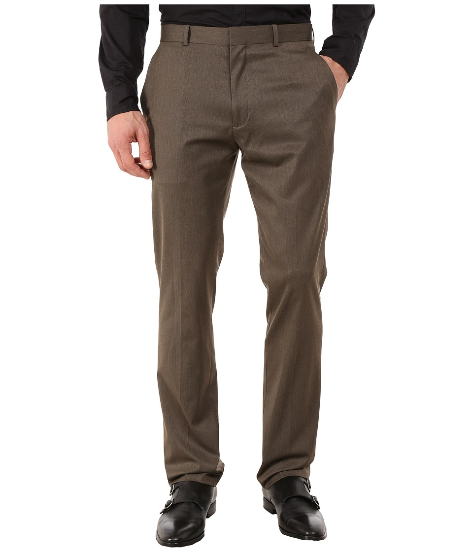 Perry Ellis Portfolio - Slim Fit Pants (Rain Drum) Mens Dress Pants