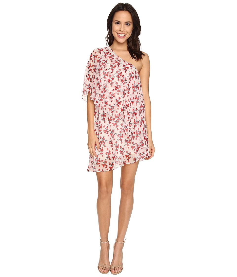 Rachel Zoe Carmen One Shoulder Mini Dress Day Orchid Womens Dress
