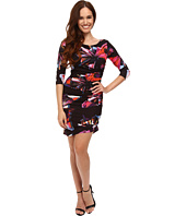 Tahari by ASL Petite - Petite Matte Jersey Butterfly Print