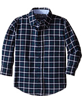 Toobydoo - Happy Checks II Flannel Shirt (Toddler/Little Kids/Big Kids)