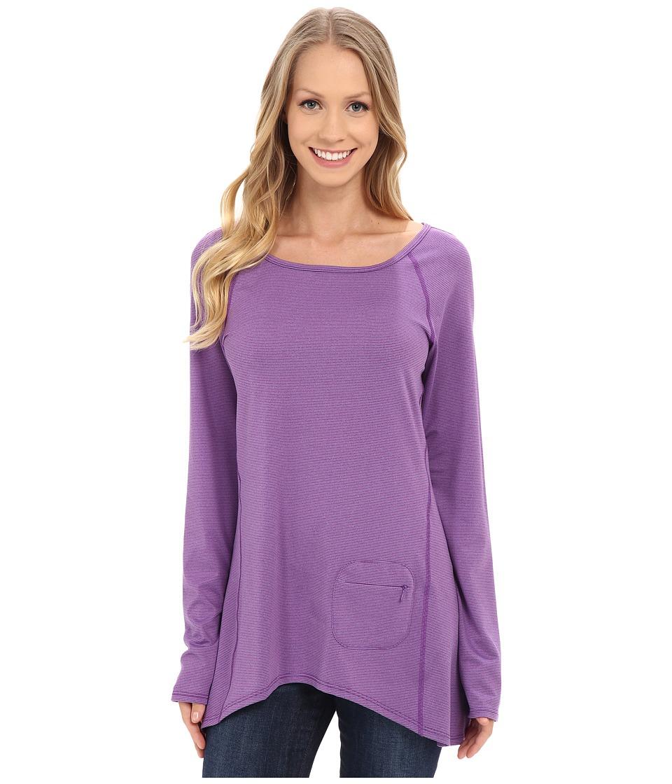 Stonewear Designs Cassanna Pullover Violet Womens Sweatshirt