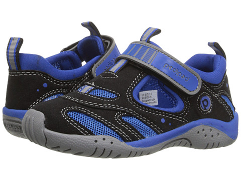 pediped Stingray Flex (Toddler/Little Kid) - Black/King Blue