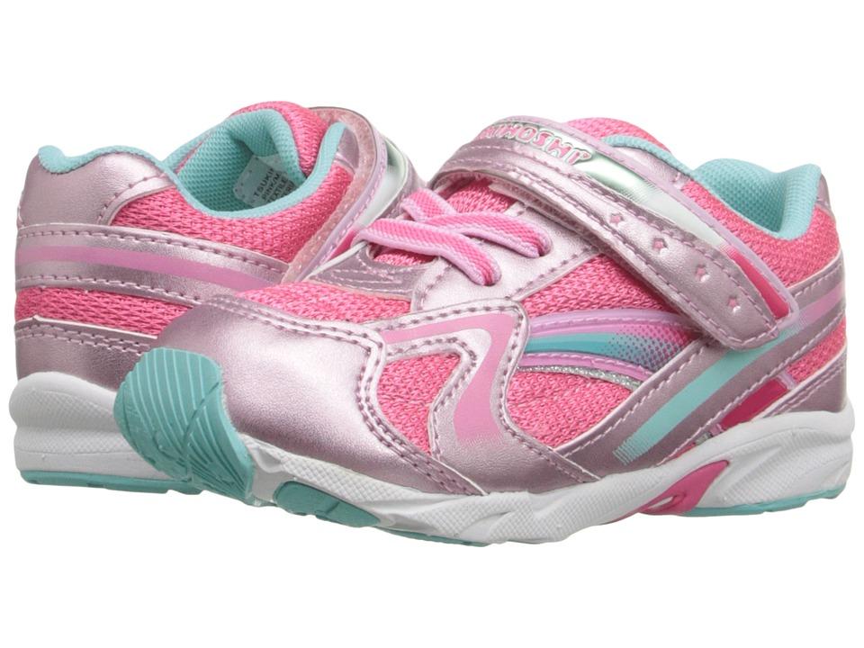 Tsukihoshi Kids B. Glitz Toddler Pink/Mint Girls Shoes