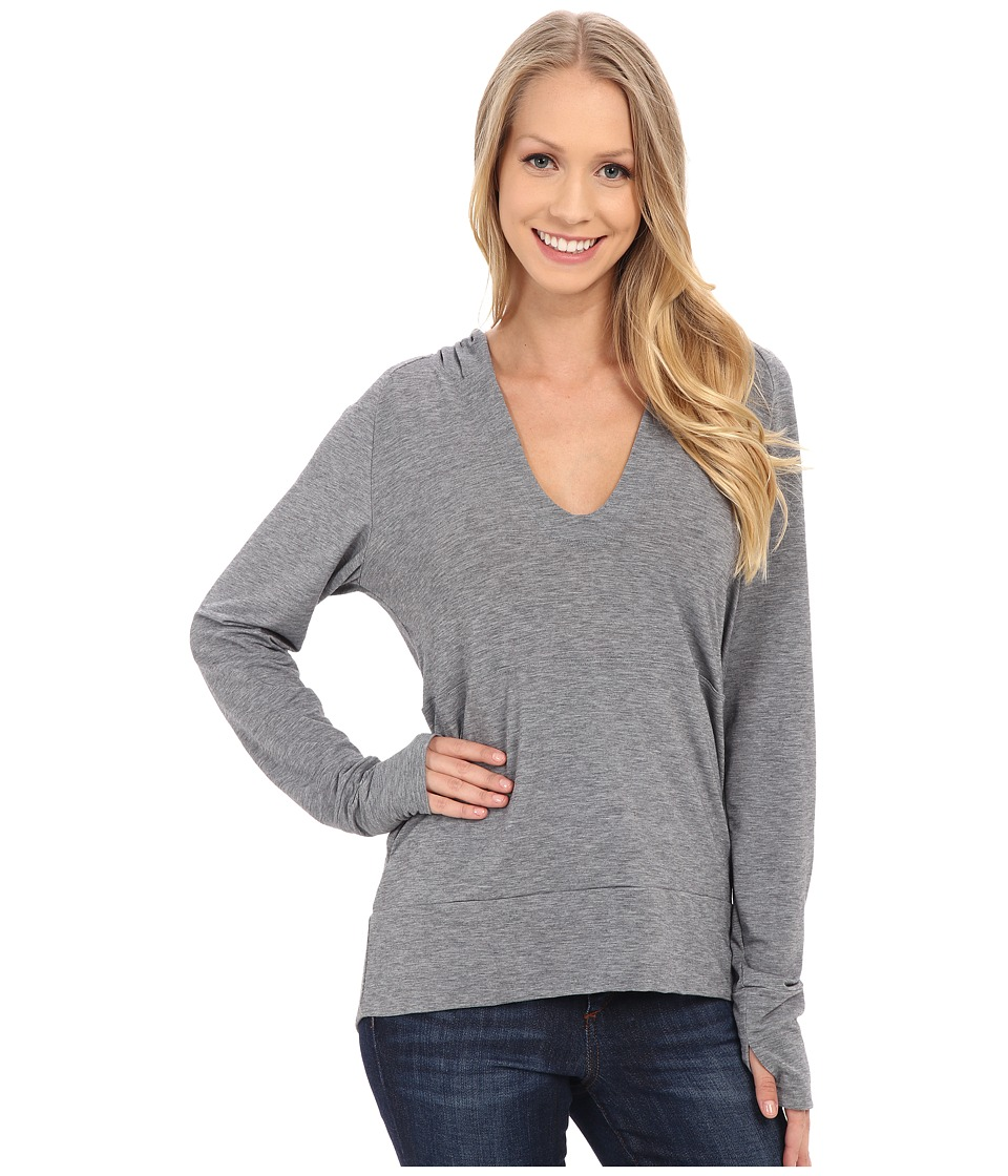 Stonewear Designs Breeze Pullover Stone Heather Womens Clothing