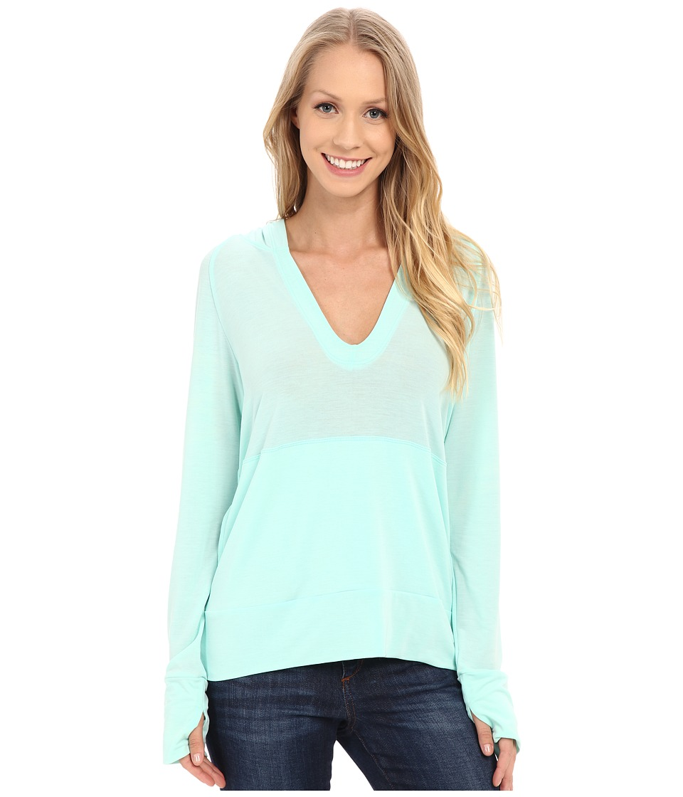 Stonewear Designs Breeze Pullover Aqua Womens Clothing