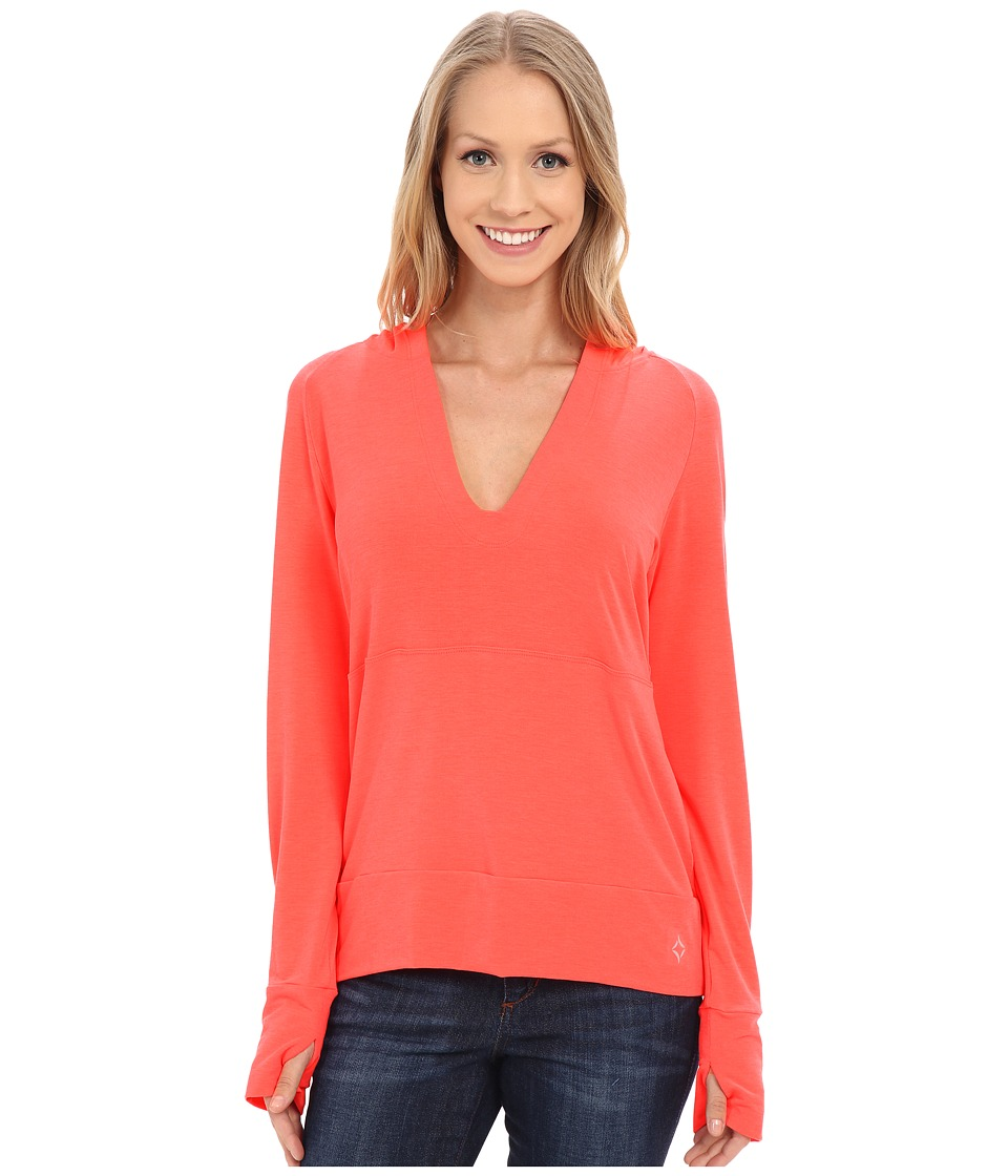 Stonewear Designs Breeze Pullover Hot Melon Womens Clothing