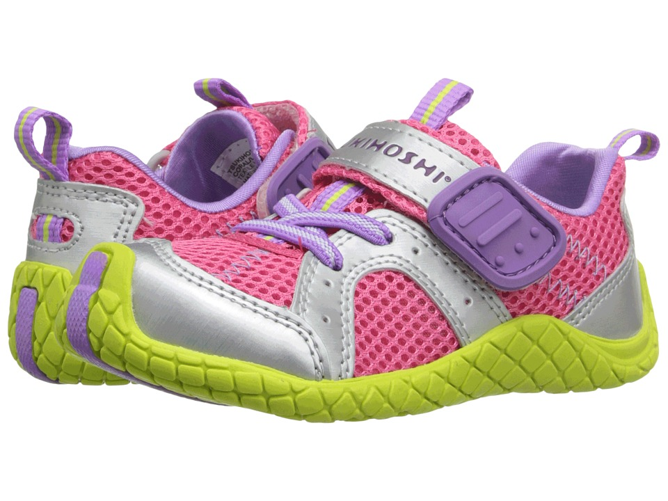 Tsukihoshi Kids - Marina (Toddler/Little Kid) (Coral/Lime) Girls Shoes