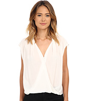 Velvet by Graham & Spencer - Manda Short Sleeve Surplice Top