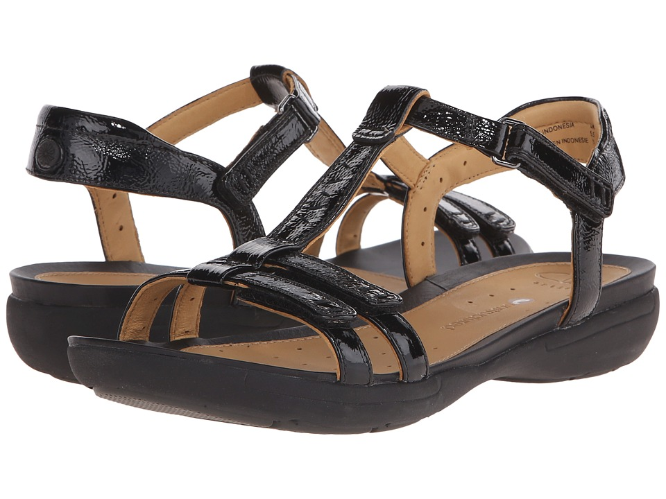 Clarks - Un Vaze (Black Patent Leather) Women