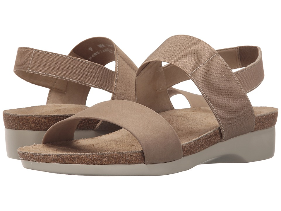 Munro American Pisces Taupe Nubuck Womens Sandals