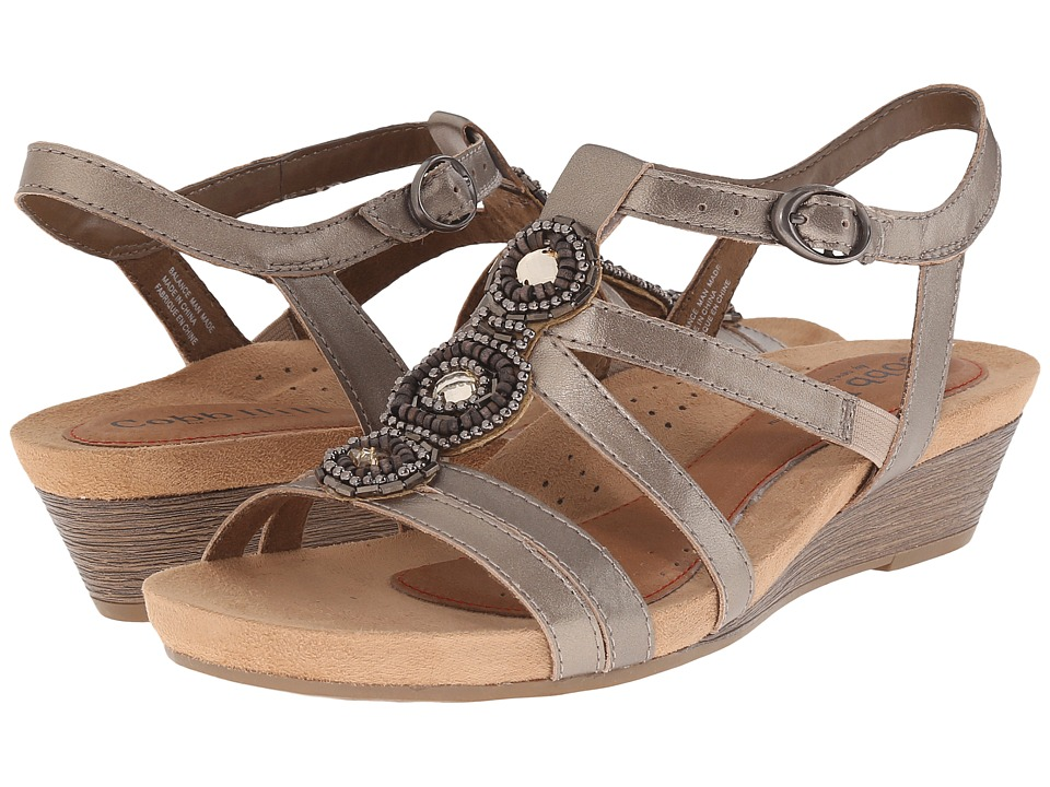 Rockport Cobb Hill Collection - Cobb Hill Hannah (Pewter) Women's Wedge Shoes