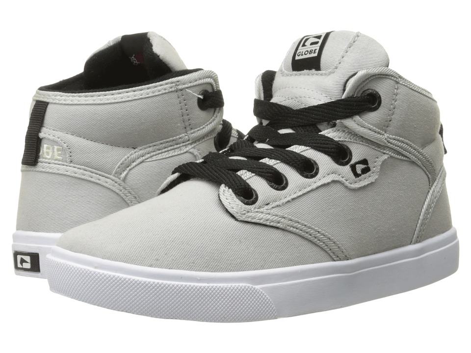 Globe - Motley Mid (Little Kid/Big Kid) (Light Grey) Mens Skate Shoes