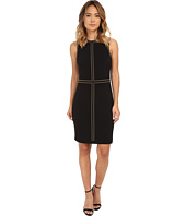 Calvin Klein - Jersey Sheath Dress with Hot Fix