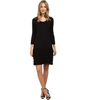 Calvin Klein - 3/4 Sleeve Fringe Dress