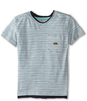 Lucky Brand Kids - Bearing Raw Edges Tee (Little Kids/Big Kids)
