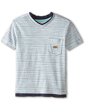 Lucky Brand Kids - Bearing Raw Edges Tee (Toddler)