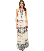 Hale Bob - Wearable Art Drop Waist Maxi Dress