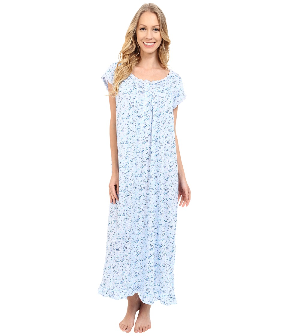 Eileen West Ballet Nightgown Multi Floral Womens Pajama