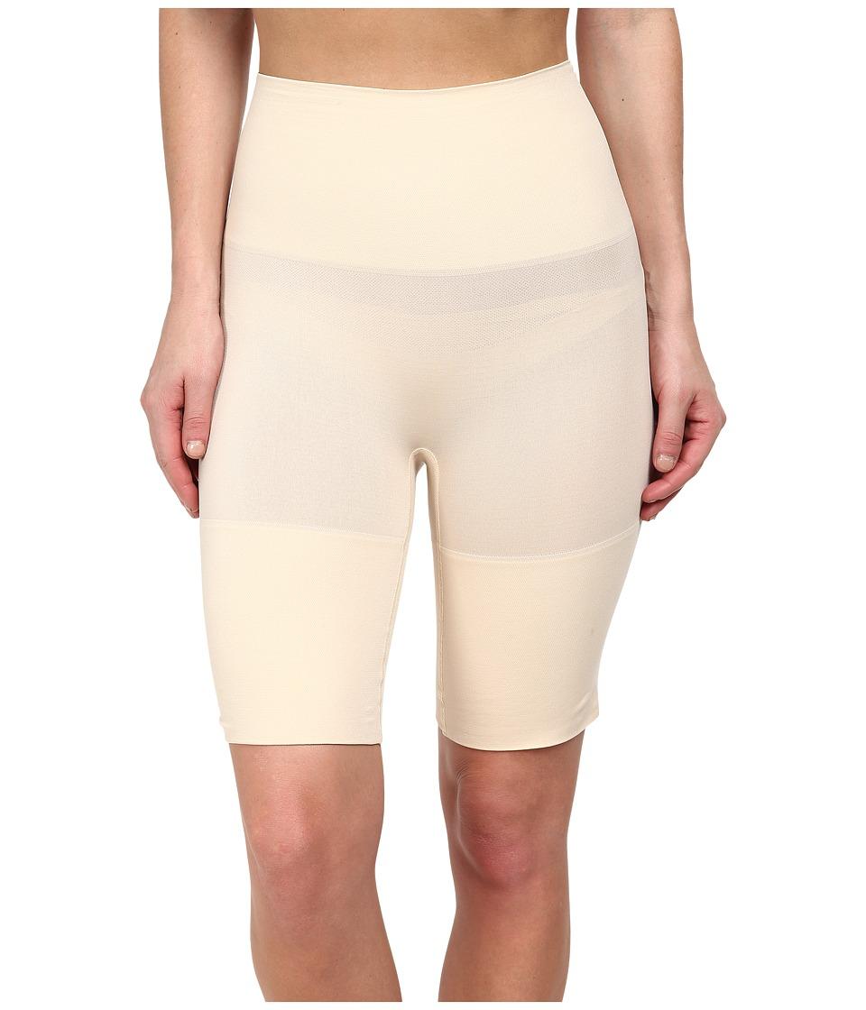 Yummie by Heather Thomson - Margie Mid Waist Thigh Shaper (Nude) Women's Clothing