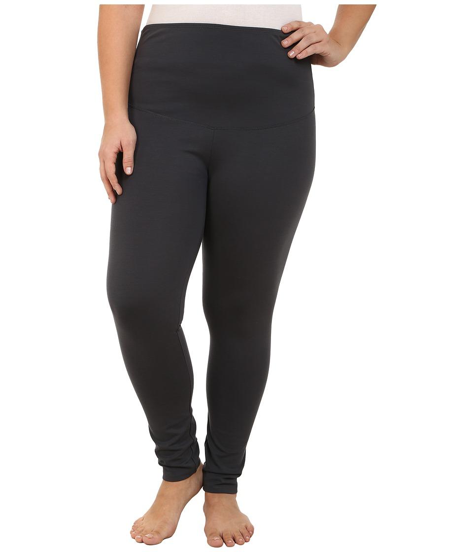 Yummie by Heather Thomson - Plus Size Louise Leggings (Asphalt) Women's Casual Pants