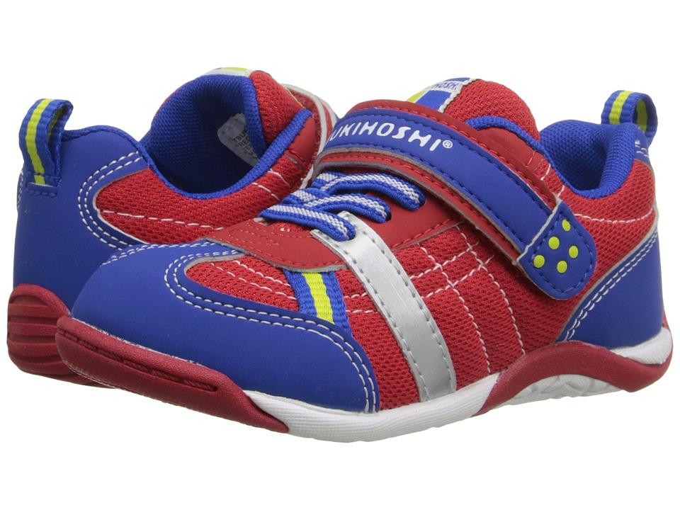 Tsukihoshi Kids Kaz (Toddler/Little Kid) (Red/Royal) Boy's Shoes