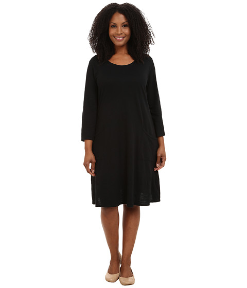 Fresh Produce - Plus Size Dalia Dress (Black) Women's Dress