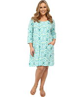 Fresh Produce - Plus Size Ikat Dalia Dress