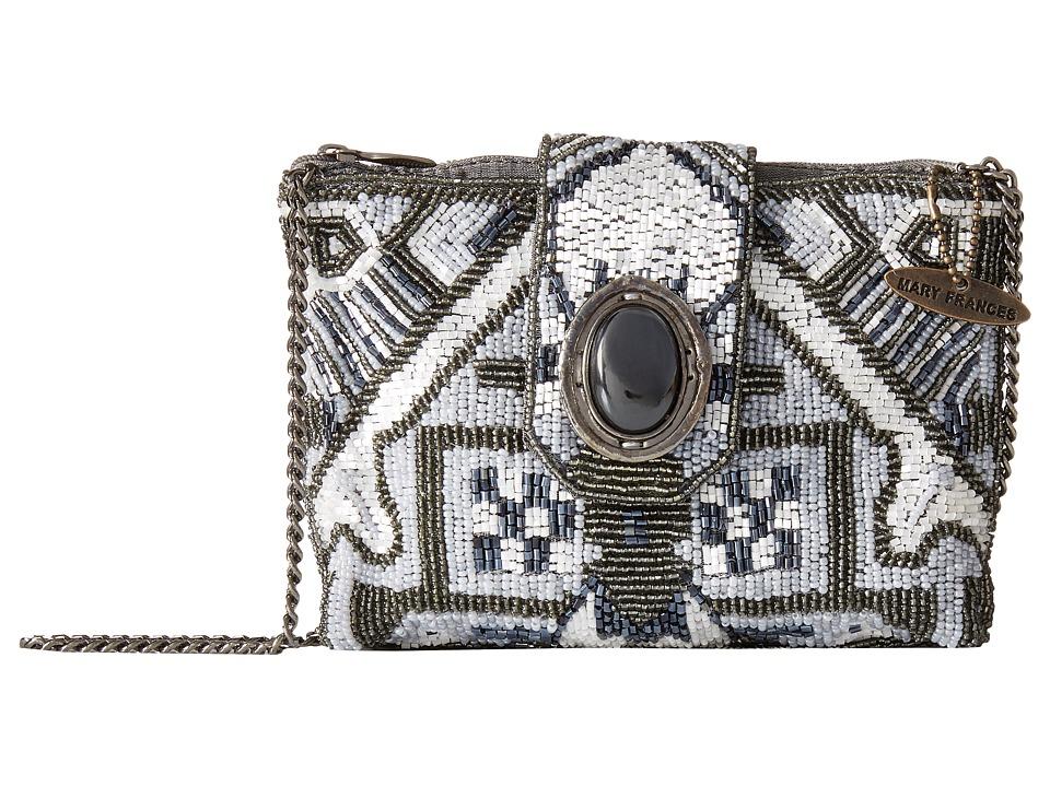 Mary Frances - Magic Carpet Mini (Gray) Handbags