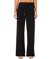 Yummie by Heather Thomson - Wide Leg Pants w/ Ribbed Detail