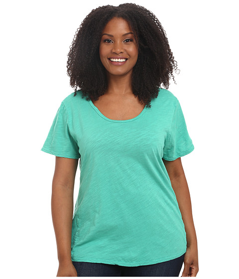 Fresh Produce - Plus Size Luna Top (Parsley) Women's Clothing