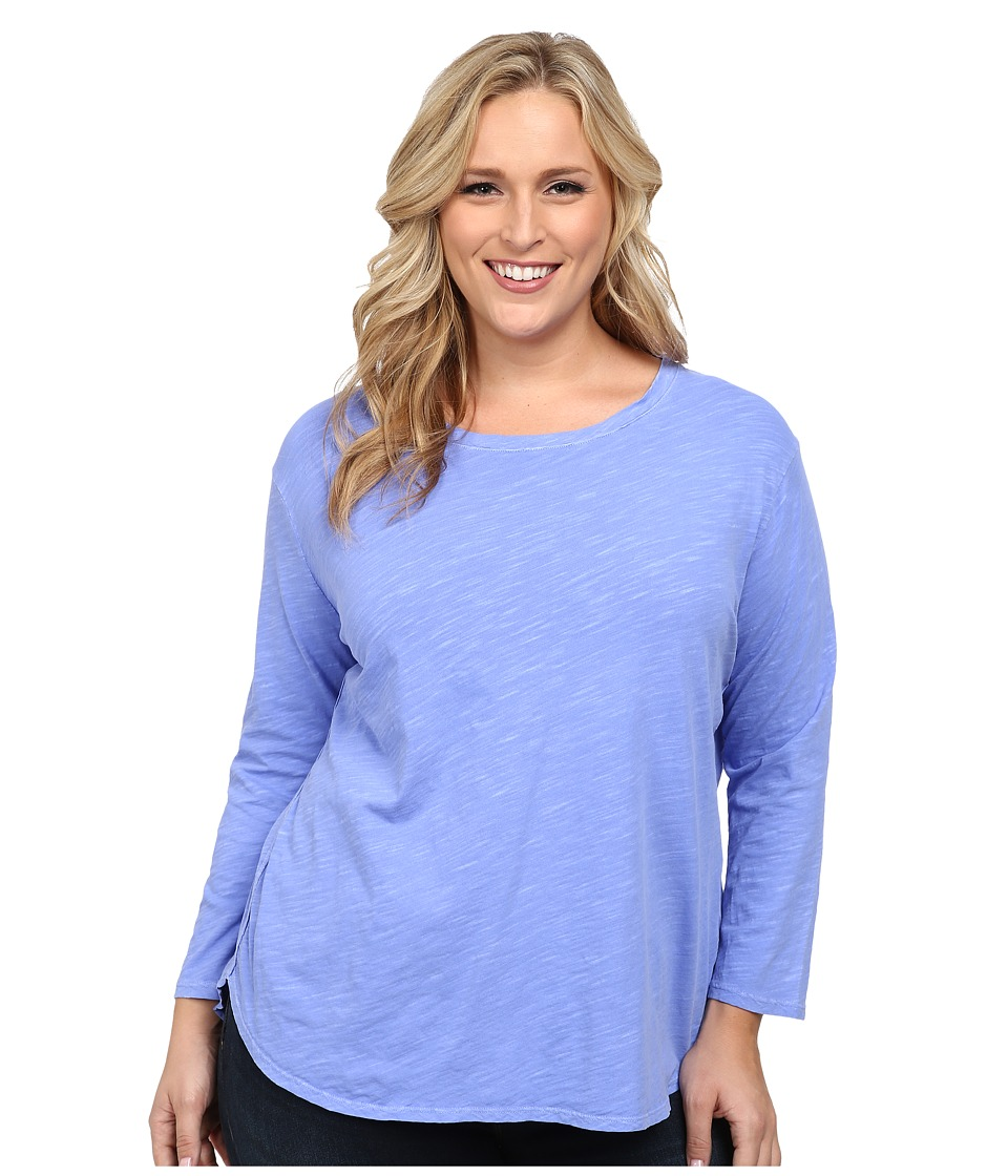 Fresh Produce Plus Size Catalina Shirt Periwinkle Womens Clothing