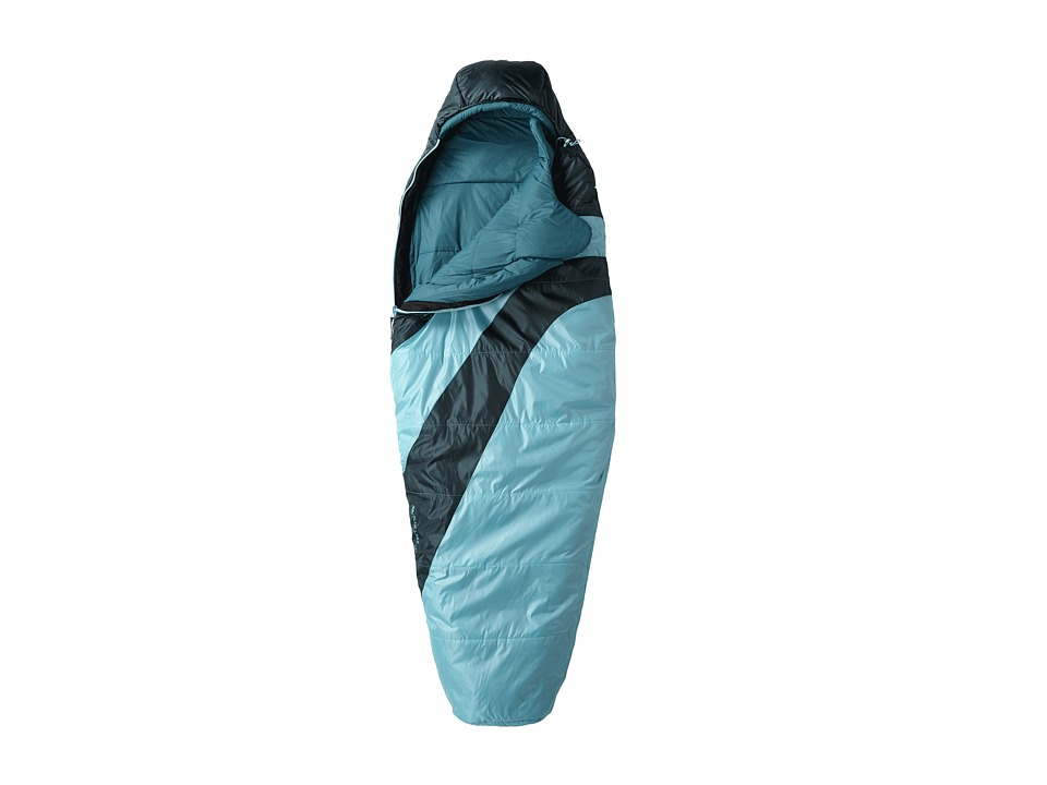 Big Agnes Blue Lake 25 Synthetic Petite Turquoise/Pine Outdoor Sports Equipment