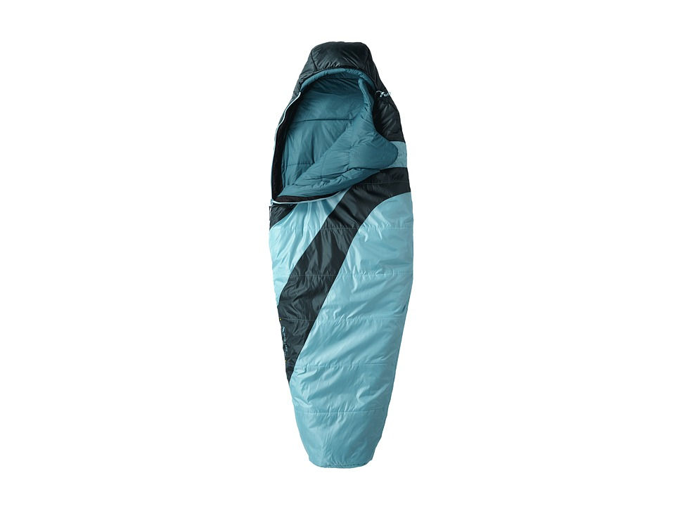 Big Agnes Blue Lake 25 Synthetic Regular Turquoise/Pine Outdoor Sports Equipment